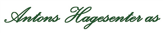 Logo, Antons Hagesenter AS